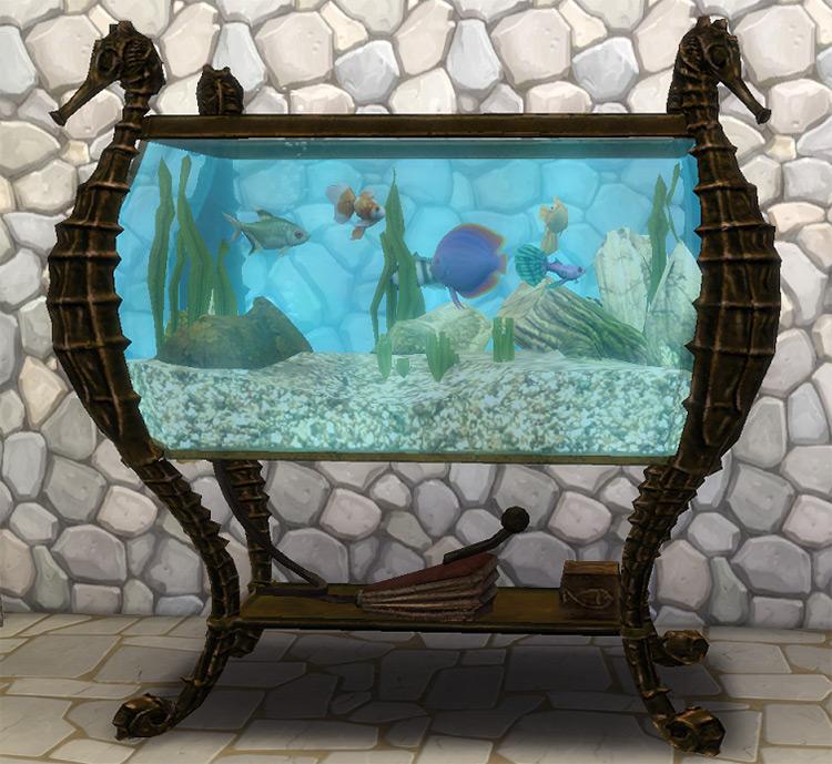Sherlock Holmes Aquarium Sims 4 CC