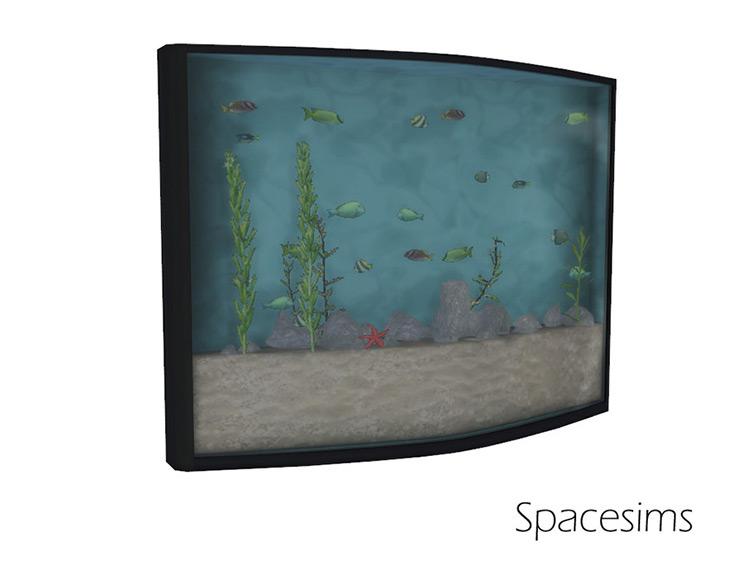 Maia Dining Room Aquarium Sims 4 CC
