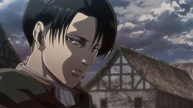 Levi from Attack on Titan anime
