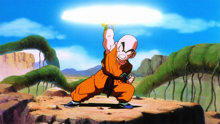 Krillin in Dragon Ball Z