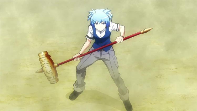 Nagisa Shiota in Assassination Classroom anime