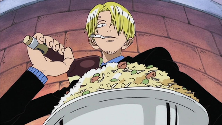 Sanji from One Piece anime