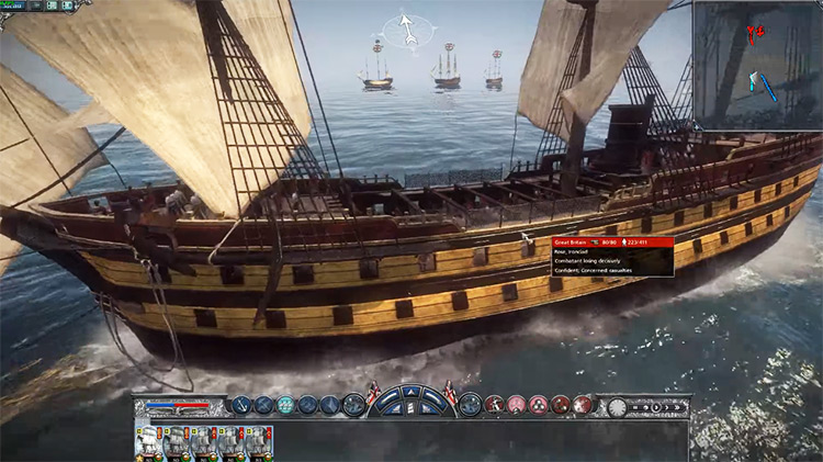 80-Gun Steam Ship in Napoleon: Total War