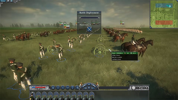 Unicorns Unit in Napoleon: Total War