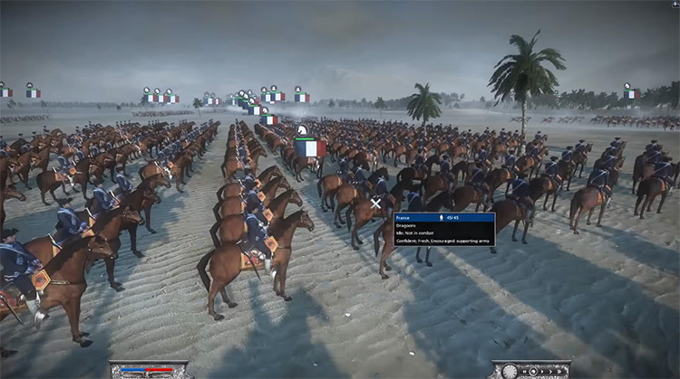 Empress Dragoons Napoleon: Total War Unit