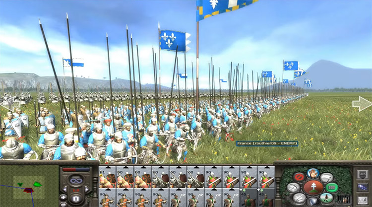 France in Medieval 2: Total War