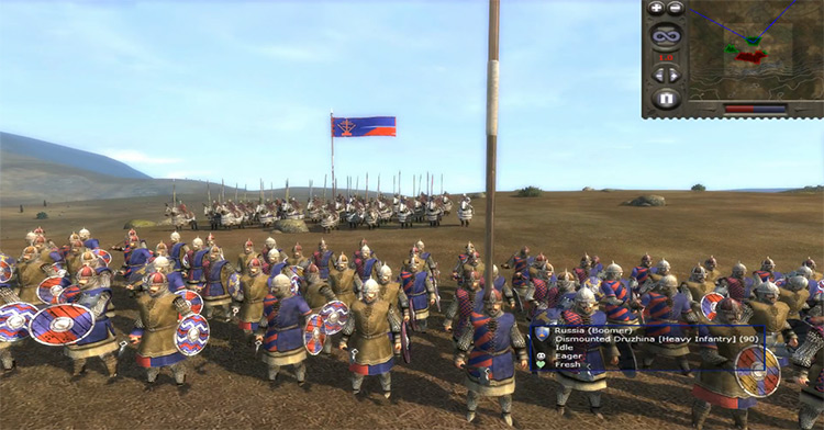 Russia in Medieval 2: Total War