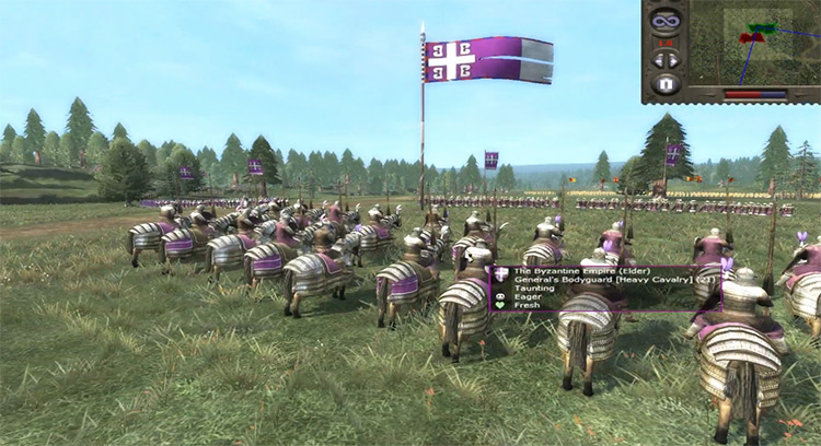 Byzantine Empire Medieval II: Total War Faction