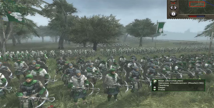 Milan in Medieval 2: Total War