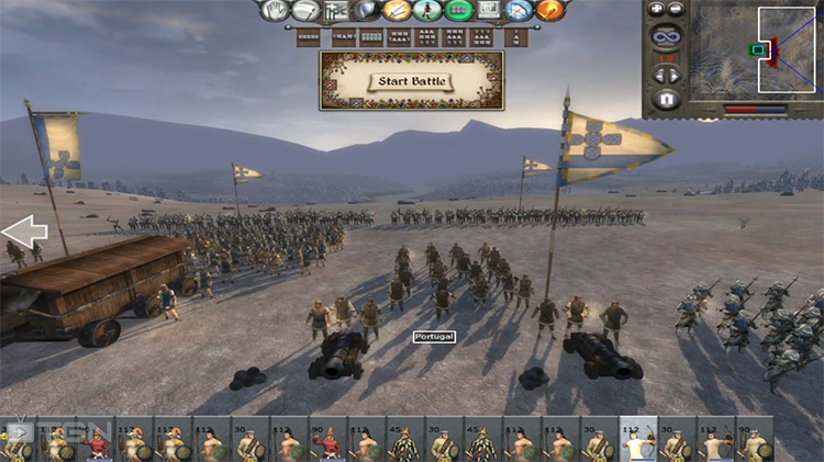 Portugal Faction in Medieval 2: Total War