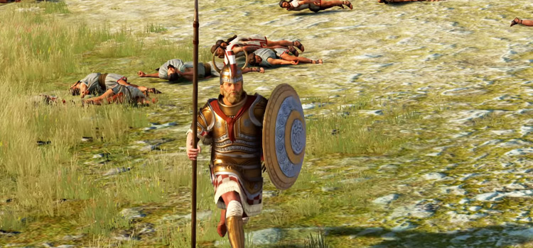 Sparta in Total War Saga: Troy HD