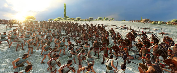 Sparta Faction in Total War Saga: Troy