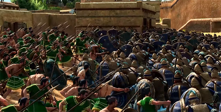 Hector's Trojans Total War Saga: Troy Faction