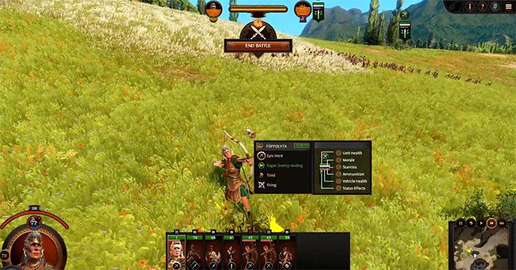 Hippolyta's Amazons in Total War Saga: Troy