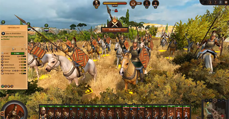 Penthesilea's Amazons in Total War Saga: Troy