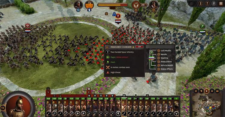 Mycenae Faction in Total War Saga: Troy