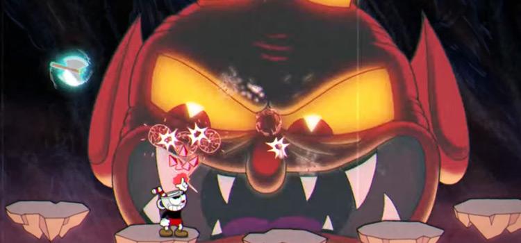 Devil World Boss in Cuphead