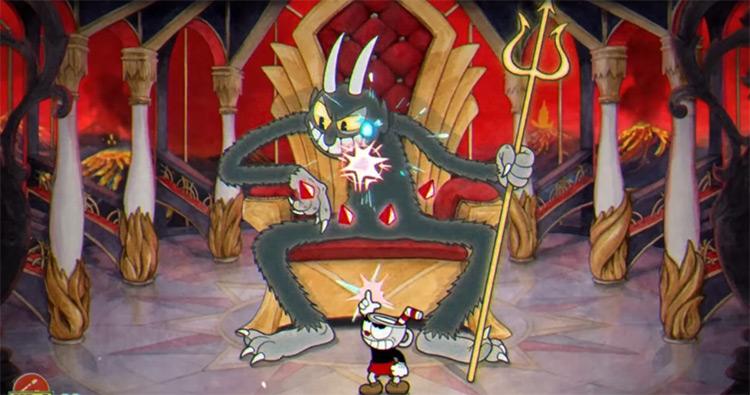 The Devil – World 4 Cuphead Boss