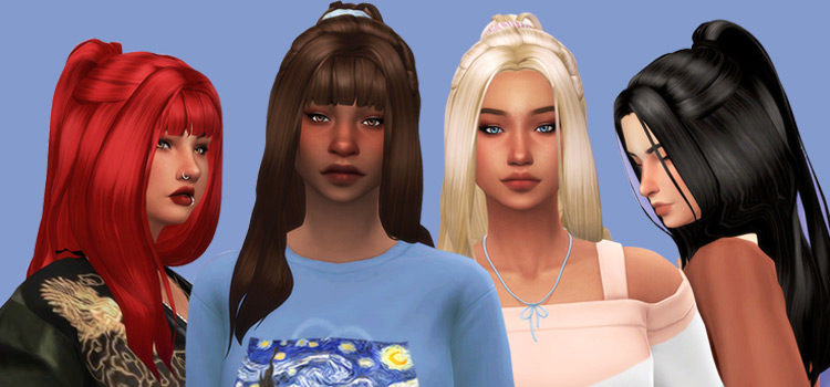 Sims 4 Hair Scrunchies CC: The Ultimate Collection