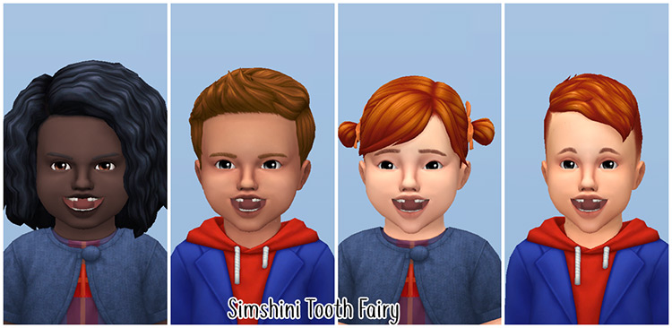 Tooth Fairy for Toddlers by Simshini Sims 4 CC