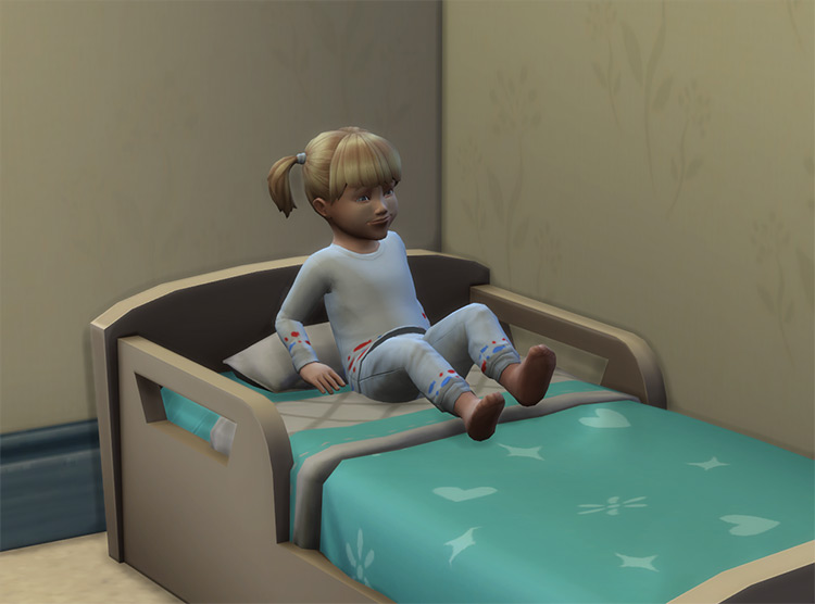 Toddlers Have Less Nightmares by Candyd TS4 CC
