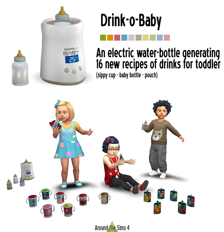 Drink-o-Baby by Around the Sims 4 screenshot