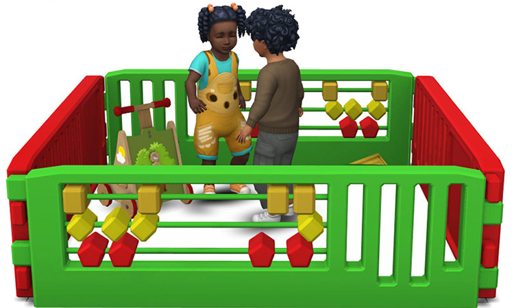 Toddler Playpens CC - Sims 4 Mod screenshot