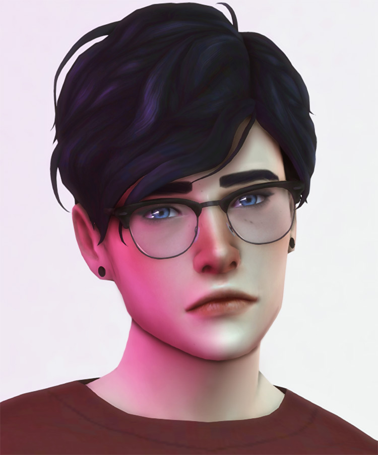 Clumsyalien's Wilfred Hair Sims 4 CC