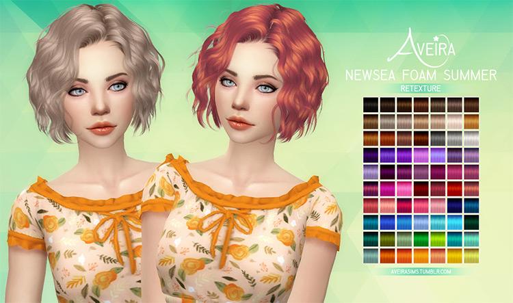 Aveira's Newsea Foam Summer – Retexture Sims 4 CC