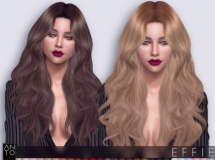 Anto's Effie Hair TS4 CC