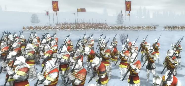 English Knights in M2TW Screenshot
