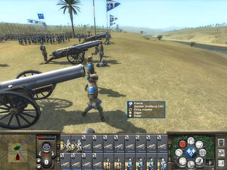 Basilisks Medieval 2: Total War Unit