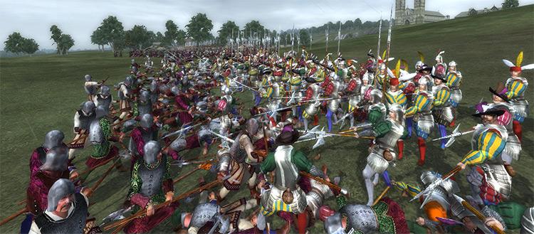 Landsknecht Pikemen Medieval II: Total War Unit