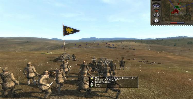 Ballista Medieval II: Total War Unit