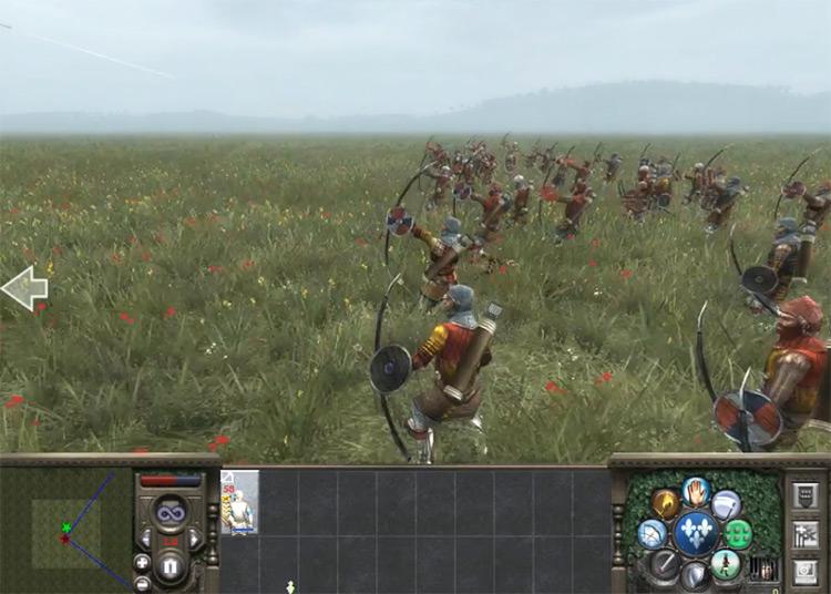 Retinue Longbowman Medieval II: Total War Unit