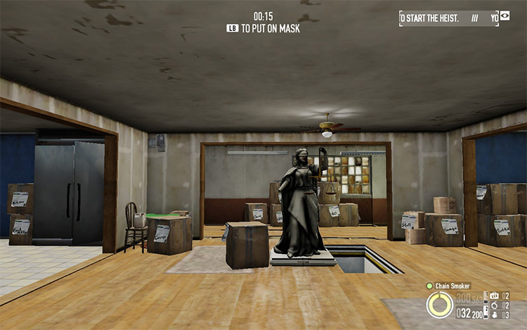 Less Effects Alpha Payday 2 Mod