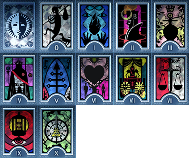 Persona 3 Major Arcana Infamy Cards Payday 2 Mod