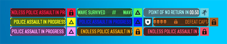 Better Assault Indicator Mod for Payday 2