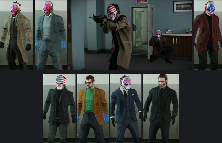 Tailor Expansion Payday 2 Mod