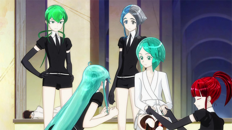Houseki no Kuni (Land of the Lustrous) anime