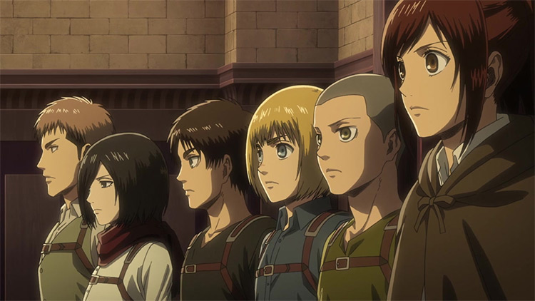 Shingeki no Kyojin (Attack on Titan) anime