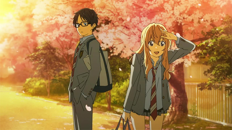 Shigatsu wa Kimi no Uso (Your Lie in April) anime