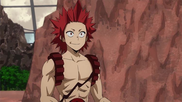Eijiro Kirishima My Hero Academia anime