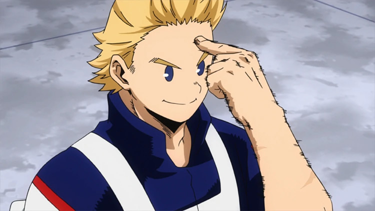 Miro Togata My Hero Academia anime