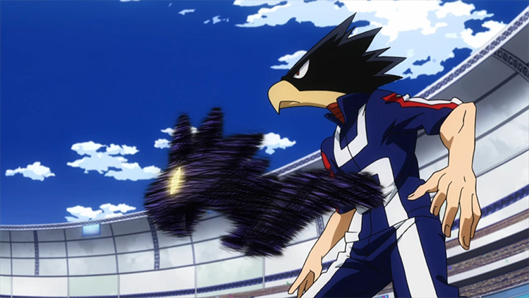 Fumikage Tokoyami from My Hero Academia