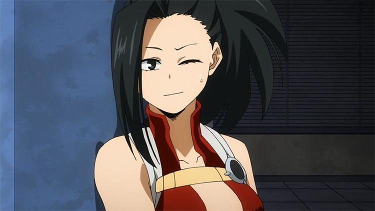 Momo Yaoyorozu My Hero Academia anime