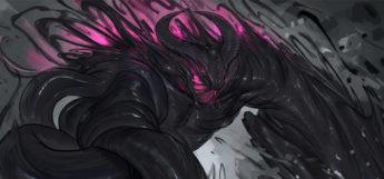 Nether Beast digital painting artwork