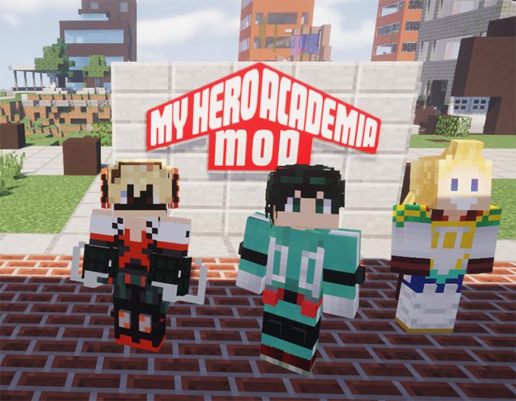 My Hero Academia Mod screenshot