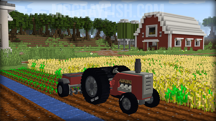 Mr. Crayfish's Vehicle Mod for Minecraft