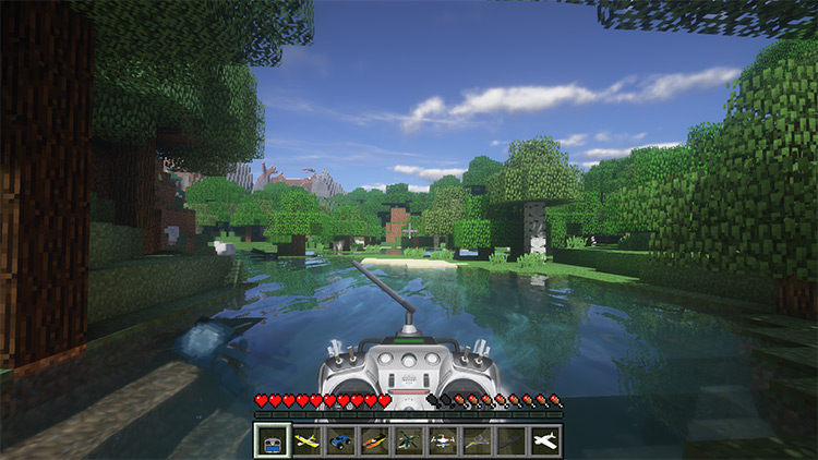 RC Mod for Minecraft